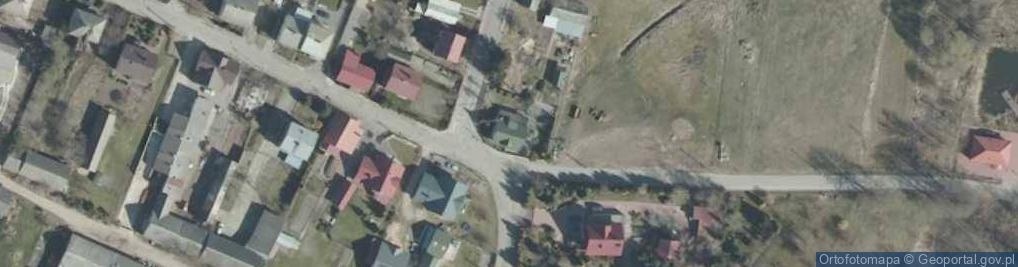 Zdjęcie satelitarne Nadnarwiańska ul.