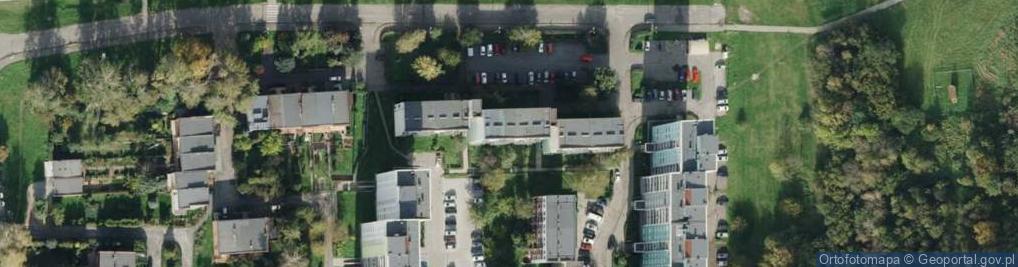 Zdjęcie satelitarne Nad Kanałem ul.