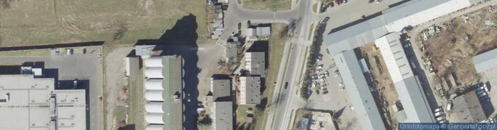Zdjęcie satelitarne Namysłowskiego Karola ul.