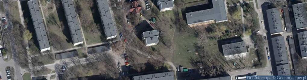Zdjęcie satelitarne Neonowa ul.