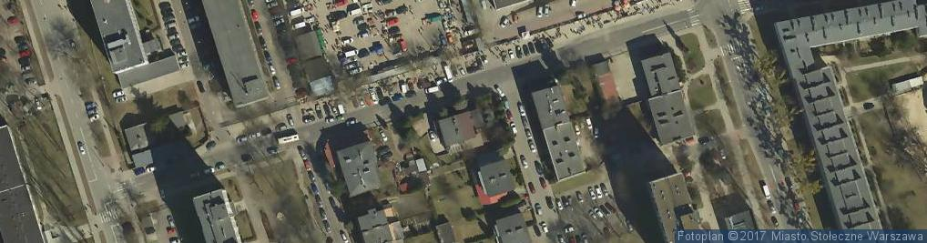 Zdjęcie satelitarne Newelska ul.