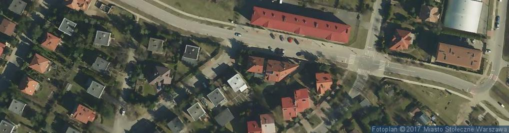 Zdjęcie satelitarne Nefrytowa ul.