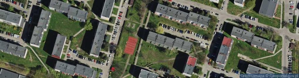 Zdjęcie satelitarne Nickla Józefa ul.