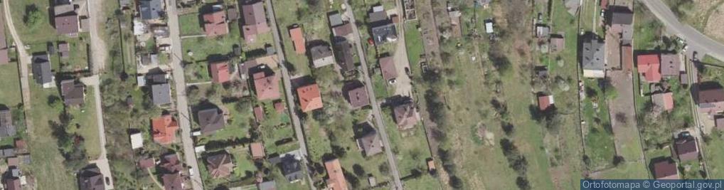 Zdjęcie satelitarne Niecała ul.
