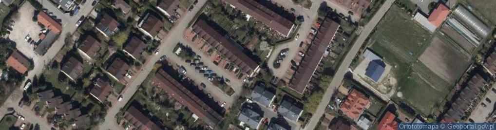 Zdjęcie satelitarne Niagary ul.
