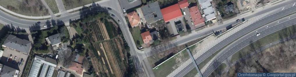 Zdjęcie satelitarne Niezapominajki ul.