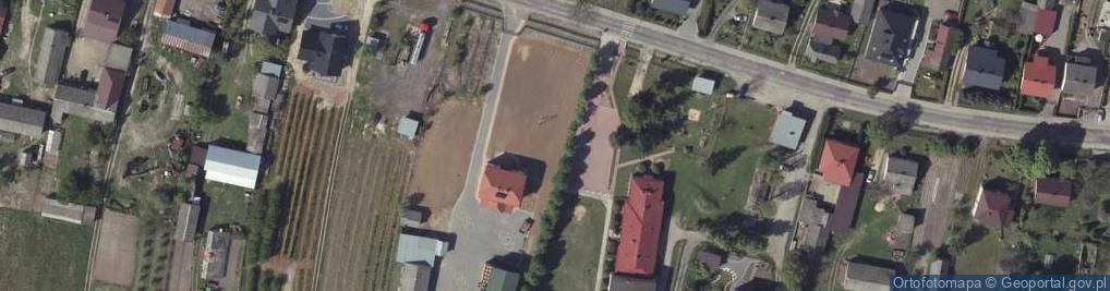 Zdjęcie satelitarne Niezdów ul.