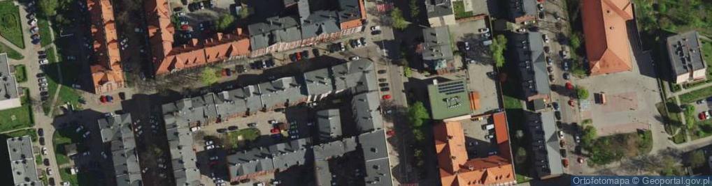 Zdjęcie satelitarne Niedurnego Piotra ul.