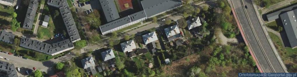 Zdjęcie satelitarne Niepodległości ul.