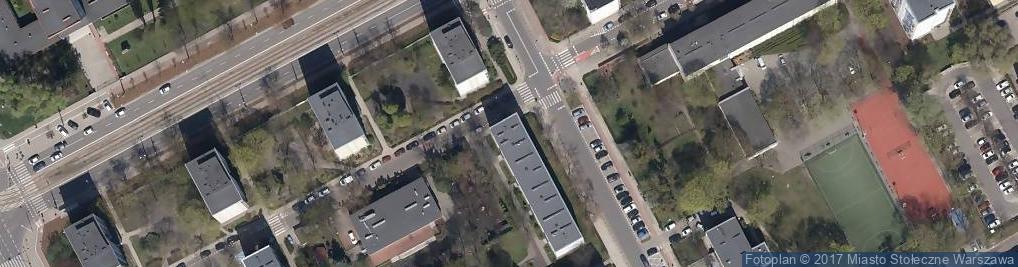 Zdjęcie satelitarne Niska ul.