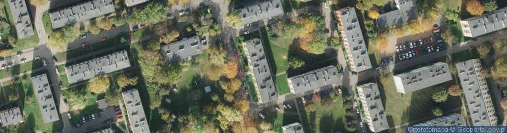 Zdjęcie satelitarne Niemcewicza Juliana Ursyna ul.