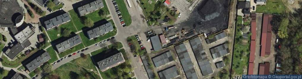Zdjęcie satelitarne Niepokólczyckiego Franciszka, płk. ul.