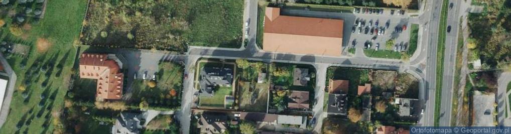 Zdjęcie satelitarne Noskowskiego Zygmunta ul.