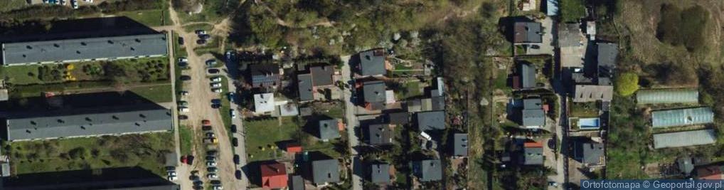Zdjęcie satelitarne Nowowiejska ul.