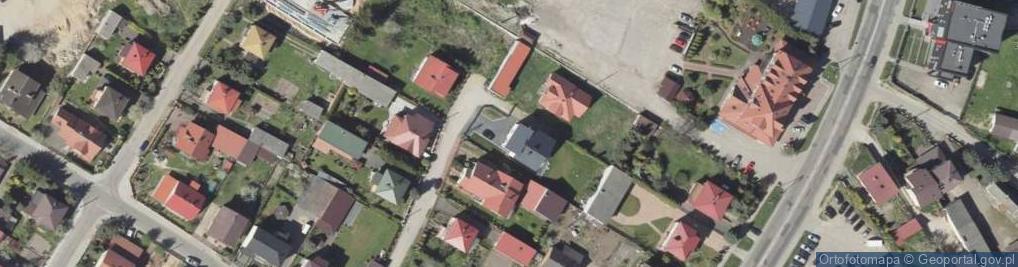 Zdjęcie satelitarne Nowoprojektowana ul.