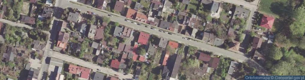 Zdjęcie satelitarne Nowospacerowa ul.