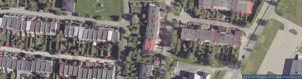 Zdjęcie satelitarne Nobla Alfreda ul.