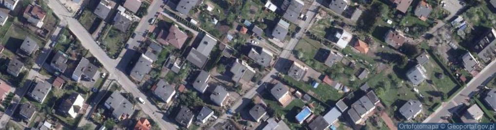 Zdjęcie satelitarne Nowotarska ul.