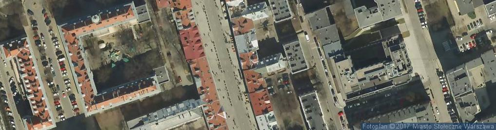 Zdjęcie satelitarne Nowy Świat ul.