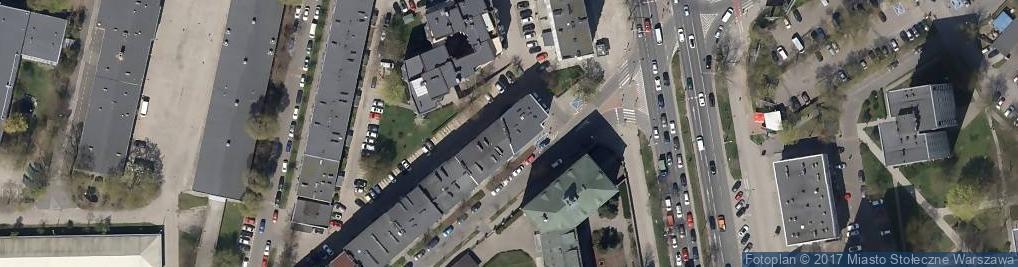 Zdjęcie satelitarne Nowosielecka ul.