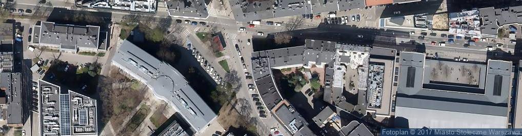 Zdjęcie satelitarne Noakowskiego Stanisława ul.