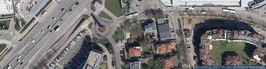Zdjęcie satelitarne Nowoberestecka ul.