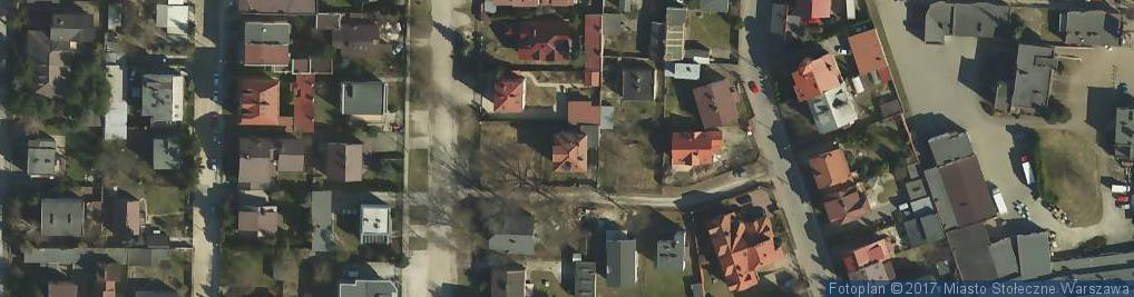 Zdjęcie satelitarne Nowosądecka ul.