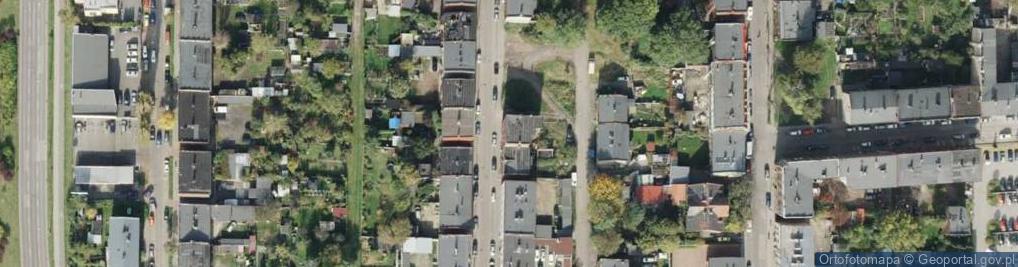 Zdjęcie satelitarne Nocznickiego Tomasza ul.