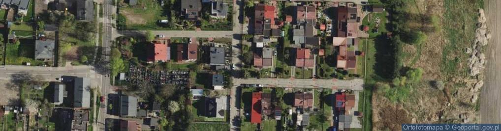 Zdjęcie satelitarne Nowa Kolonia ul.