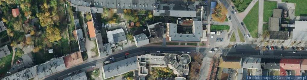 Zdjęcie satelitarne o. Augustyna Kordeckiego ul.
