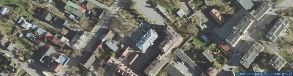 Zdjęcie satelitarne Obłońska ul.