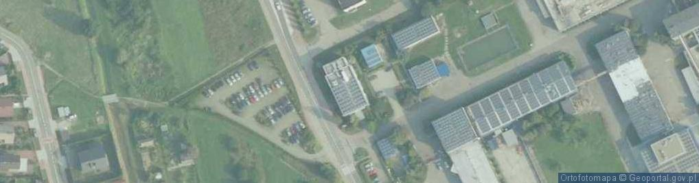 Zdjęcie satelitarne Obwodowa ul.