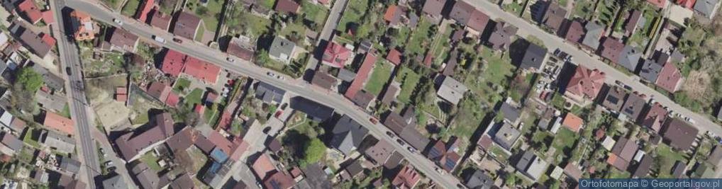 Zdjęcie satelitarne Obrońców Poczty Gdańskiej ul.