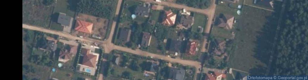 Zdjęcie satelitarne Obrońców Helu ul.