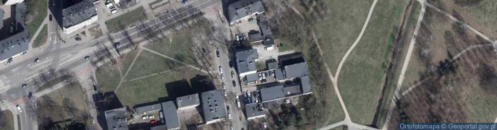 Zdjęcie satelitarne Oblęgorska ul.
