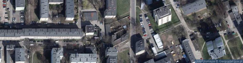 Zdjęcie satelitarne Obrońców Westerplatte ul.