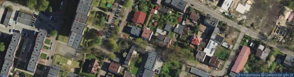 Zdjęcie satelitarne Objazd ul.