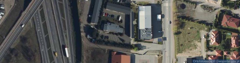 Zdjęcie satelitarne Objazdowa ul.