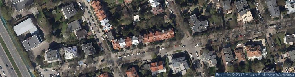 Zdjęcie satelitarne Obrońców ul.