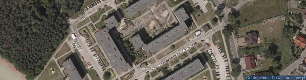Zdjęcie satelitarne Odrodzenia ul.