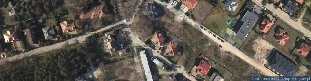 Zdjęcie satelitarne Odrowąża ul.