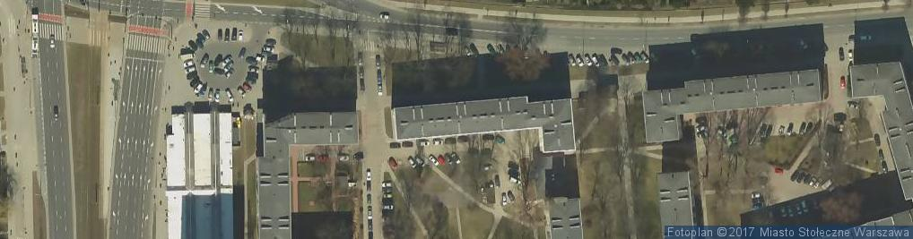 Zdjęcie satelitarne Odyńca Antoniego Edwarda ul.
