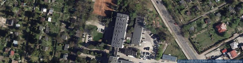 Zdjęcie satelitarne Odrębna ul.