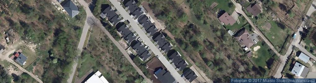 Zdjęcie satelitarne Odmienna ul.