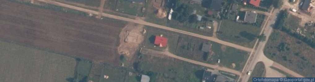 Zdjęcie satelitarne Ofiar Grudnia 1970 R ul.