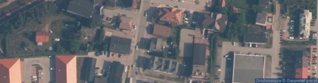 Zdjęcie satelitarne Ofiar Stutthofu ul.