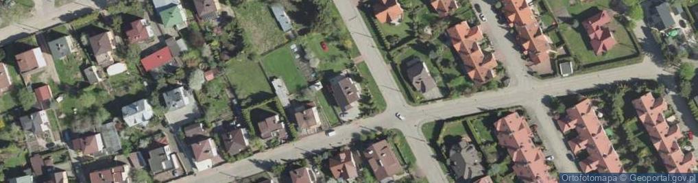 Zdjęcie satelitarne Ogrodniczki ul.
