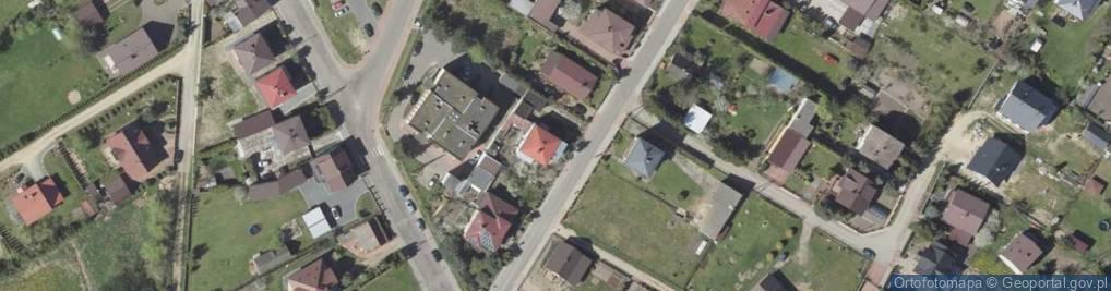 Zdjęcie satelitarne Ogrodowa ul.