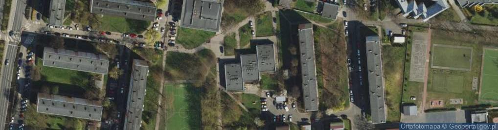 Zdjęcie satelitarne Ognik ul.