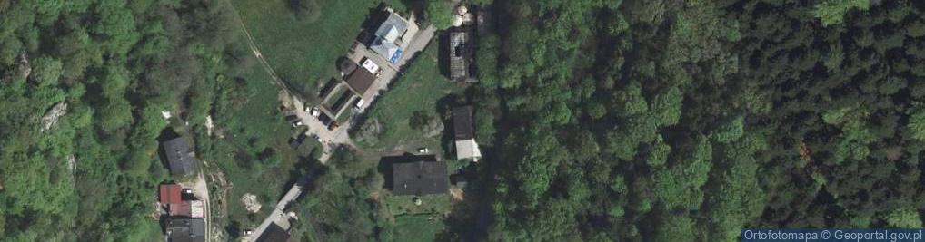 Zdjęcie satelitarne Ojców ul.